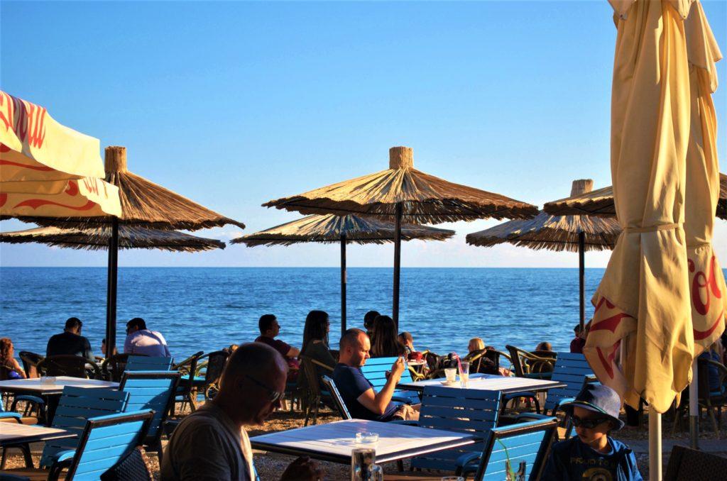 montenegro budva spiaggia centro storico