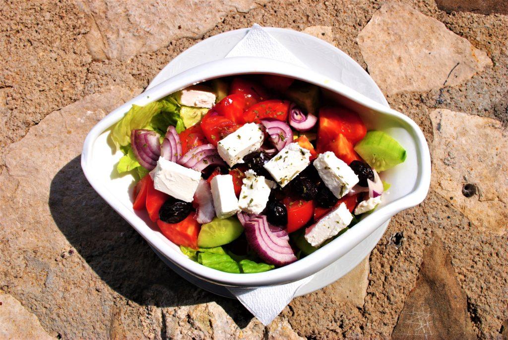 montenegro insalata colorata