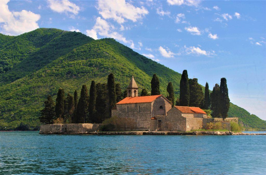 montenegro kotor perast chiesa san giorgio
