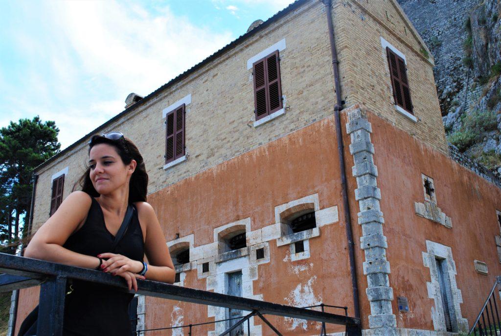 grecia corfù edificio antico