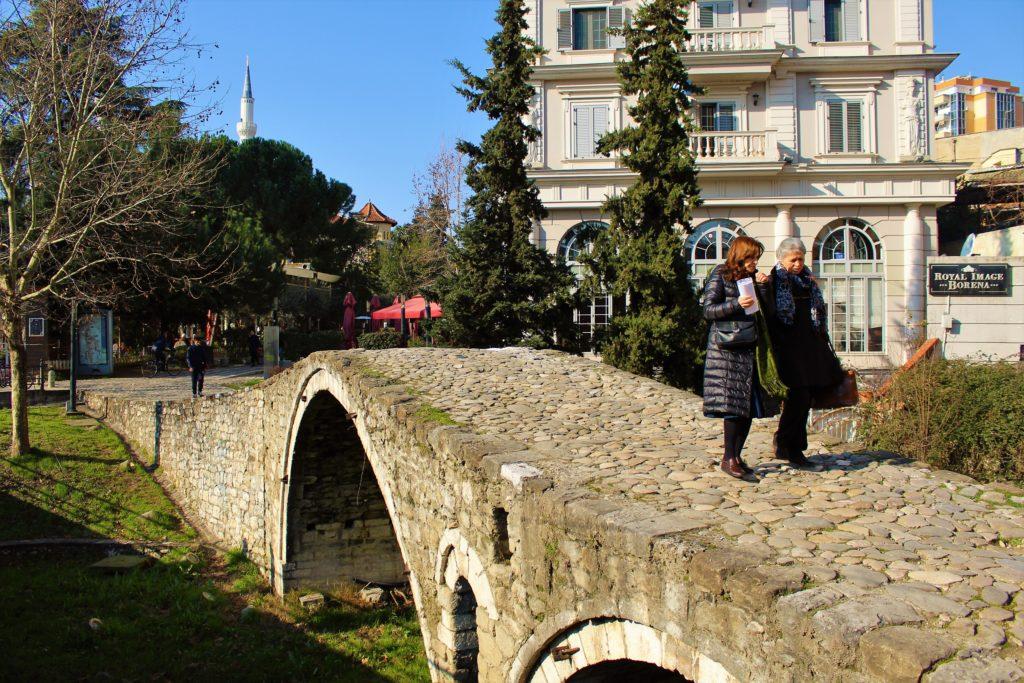 albania tirana ponte dei tabaccai ura e tabakeve centro città