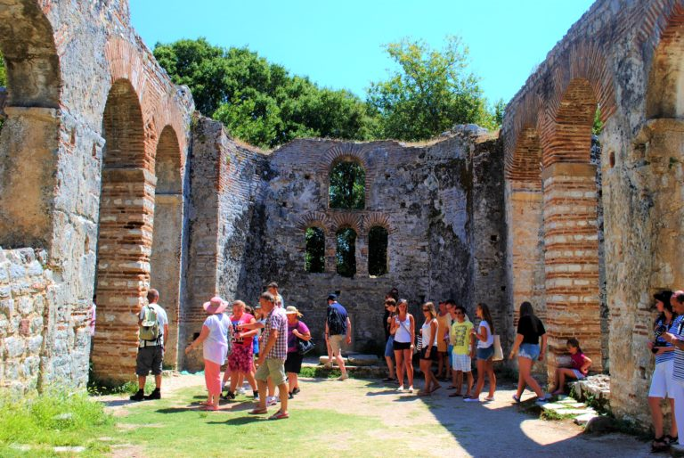 parco archeologico di butrinto albania