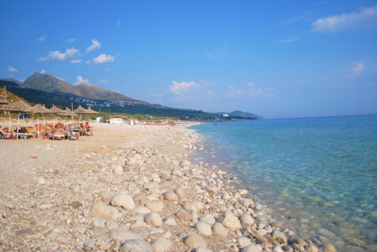 albania riviera albanese drymades beach
