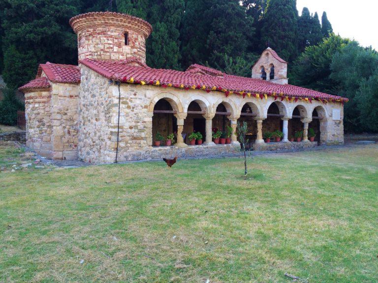 isolotto di zvernec con monastero ortodosso valona albania