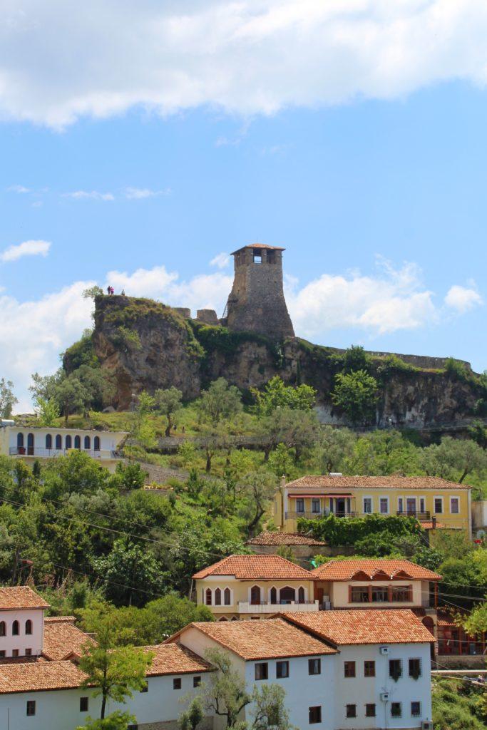 albania kruja vista castello da hotel panorama