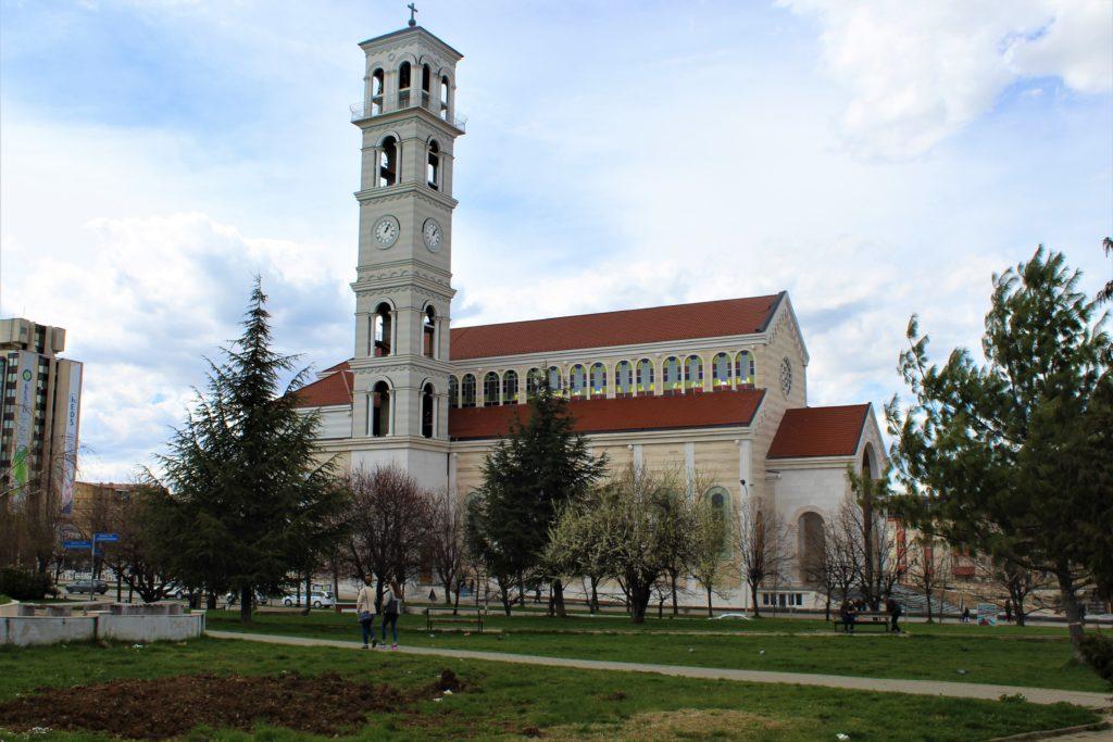 kosovo pristina cattedrale madre teresa
