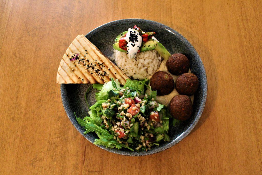 kosovo pristina falafel bowls babaghanoush