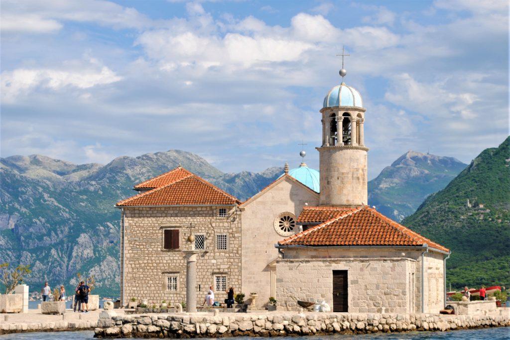 montenegro baia di kotor perast isola nostra madonna dello scalpello