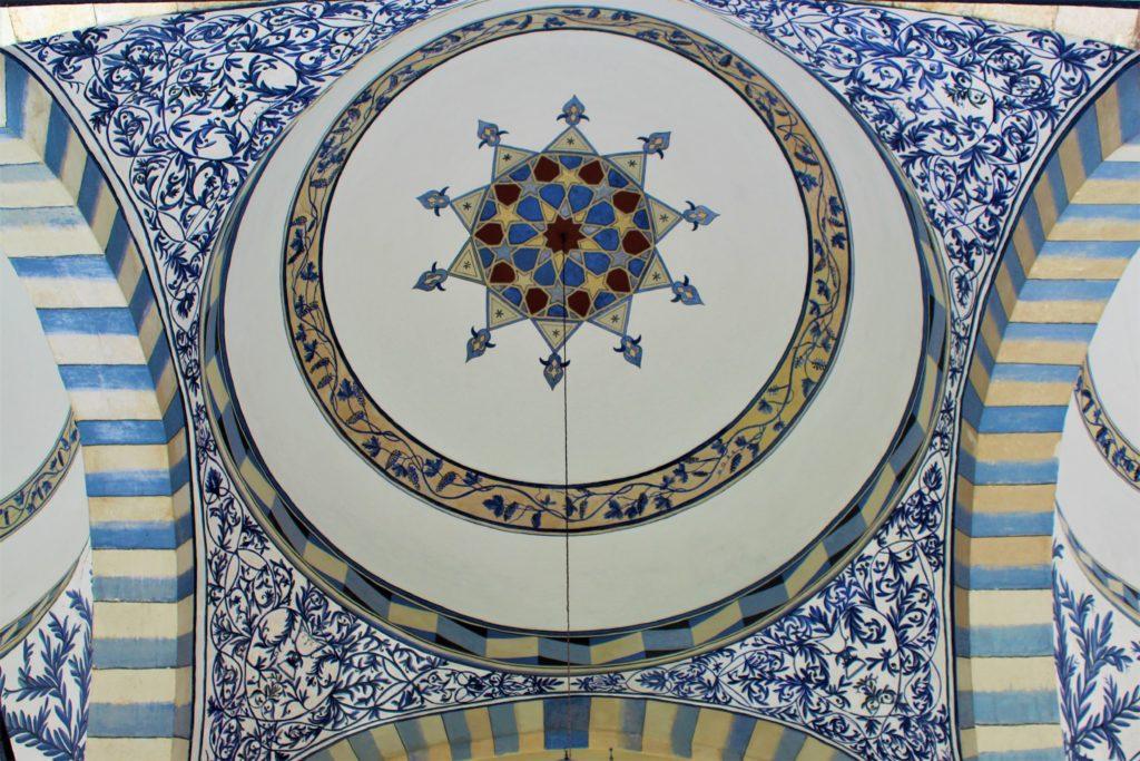 kosovo pristina decorazioni moschea volte esterne