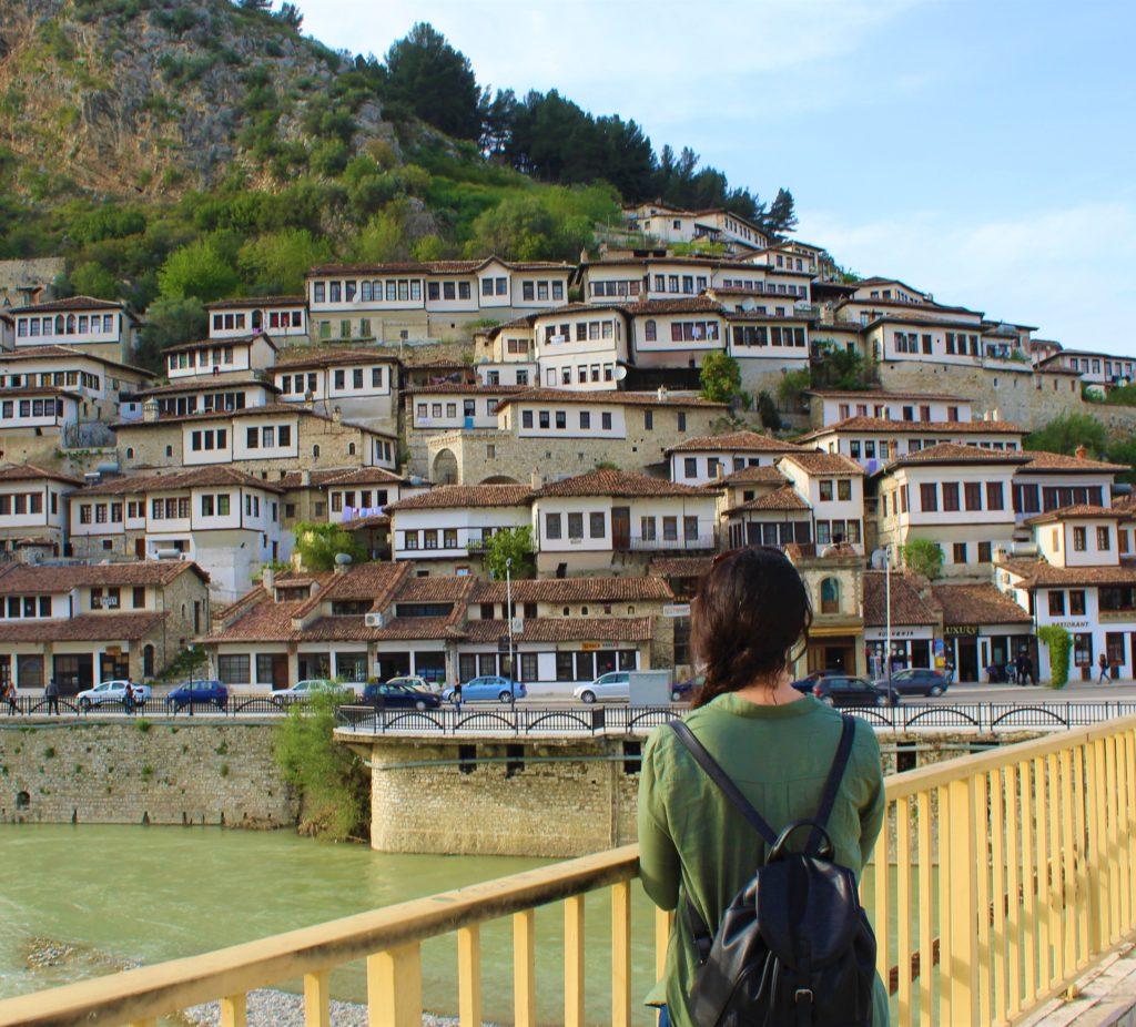 albania berat mangalem case tradizionali vista