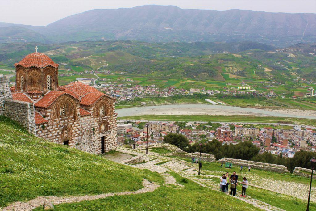 albania berat kalaja chiesa santa trinità