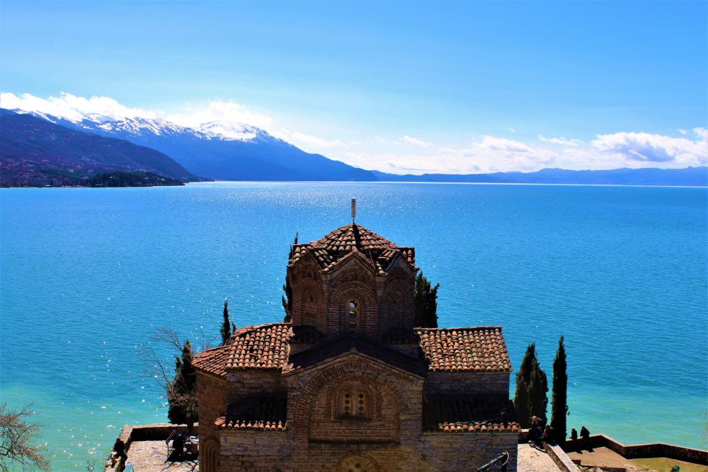 macedonia lago di ohrid chiesa sveti kaneo