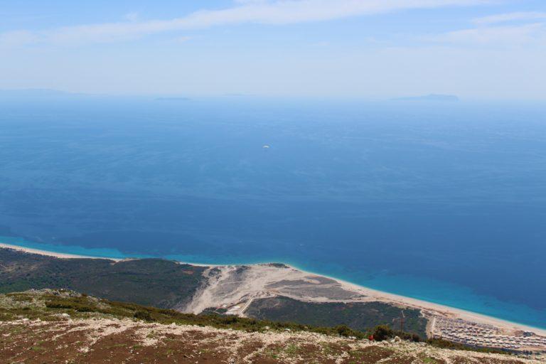 albania mare mille sfumature di blu llogara