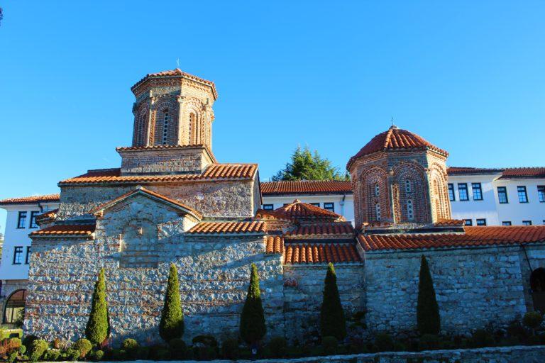 monastero sveti naum macedonia lago di ohrid